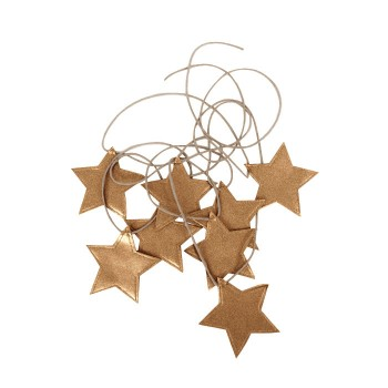 Guirlande - étoile Or