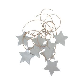 Guirlande - étoile Argent