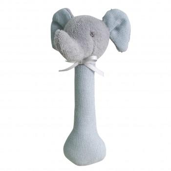Hochet Éléphant - Gris - Ratine et Lin