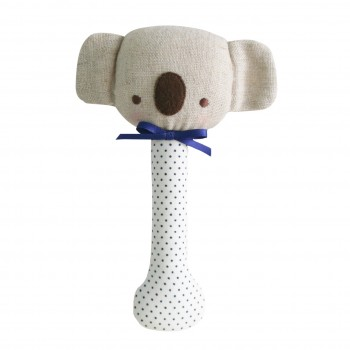 Hochet Koala - Lin et Pois Bleu