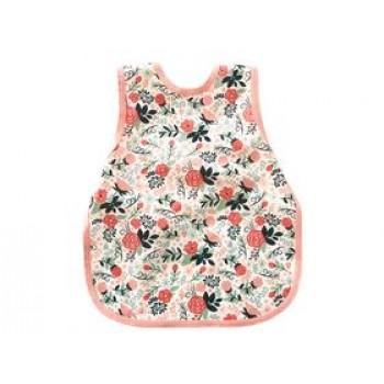 Bavette 3t - Rose Floral - Bapron Baby