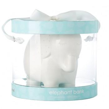 Tirelire Elephant Blanc - Pearhead