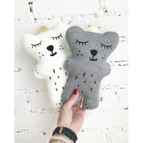 Peluche Ours Blanc - The Butter Flying
