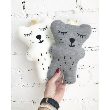 Peluche Ours Gris - The Butter Flying