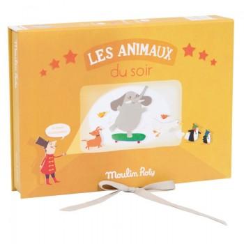 Coffret Cinéma Les Animaux - Histoire Du Soir - Moulin Roty