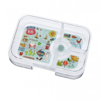 Yumbox - Plateau Panino 4 Compartiments - Route 66