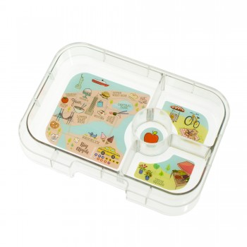Yumbox - Plateau Panino 4 Compartiments - New York