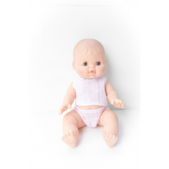 Poupée Paola Reina - Bébé Rose en Pyjama