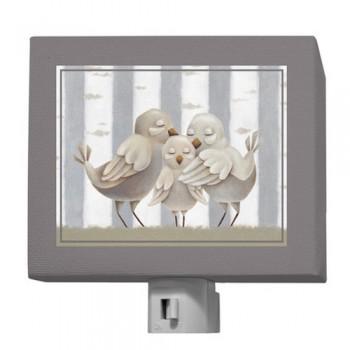 Veilleuse en Toile - Familles Oiseaux - Oopsy Daisy
