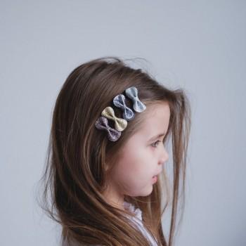 Clip Pour Cheveux Scintillant 4/pqt - Mimi & Lula
