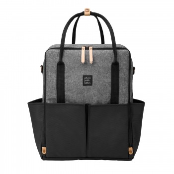 Sac à Couches - Inter-mix Backpack Graphite/noir - Petunia Picle Bottom
