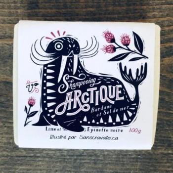 Shampooing En Barre Arctique - Savonnerie Des Diligences