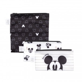 Sac À Collation 3/pqt - Disney Micky Mouse - Bumkins