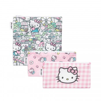 Sac à Collation 3/pqt - Hello Kitty - Bumkins