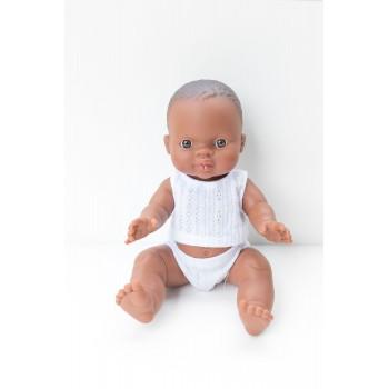 Poupée Paola Reina - Bébé William en Pijama (garcon)