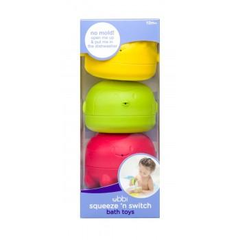 Jouets De Bain - Squeeze - 3/paquet - Ubbi