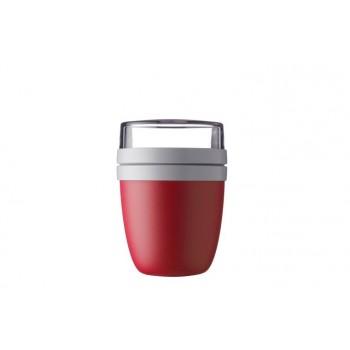 Contenant À Lunch - 2 compartiments - Ellipse - Nordic-rouge - Mepal