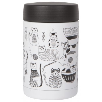 Thermos 17oz - Chats - Now Designs