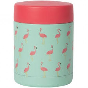 Thermos 12oz - Flammand Rose - Now Designs