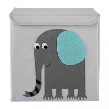 Cube de Rangement - Éléphant - Potwells