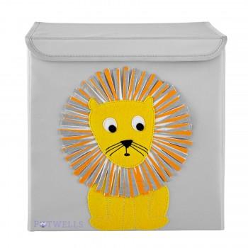 Cube de Rangement - Lion - Potwells