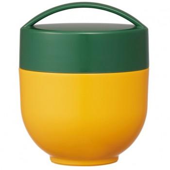 Pot Isotherme À 2 étages Café Bowl 540ml - Jaune