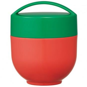 Pot Isotherme À 2 étages Café Bowl 540ml - Rouge