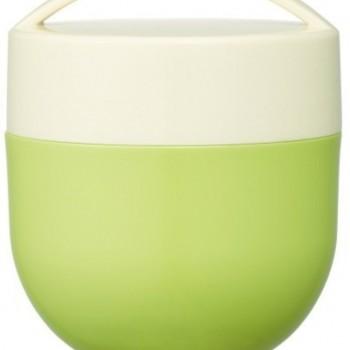 Pot Isotherme À 2 étages Café Bowl 540ml - Vert
