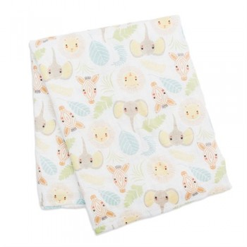 Couverture De Mousseline Coton - Jungle - Lulujo