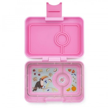 Yumbox Mini Snack 3 Compartiments - Rose Poudré