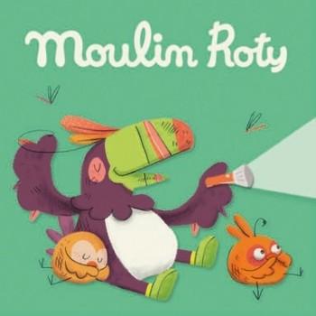 3 Disques pour Lampe à Histoires - Dans la Jungle - Moulin Roty