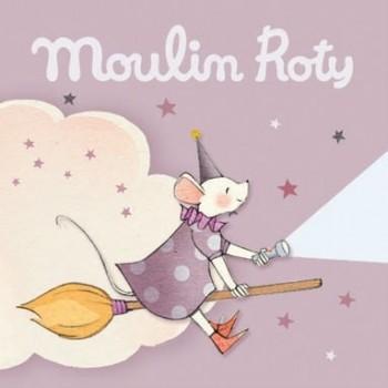 3 Disques pour Lampe à Histoires - Il était Une Fois (rose) - Moulin Roty