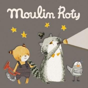 3 Disques pour Lampe à Histoires - Les Moustaches - Moulin Roty
