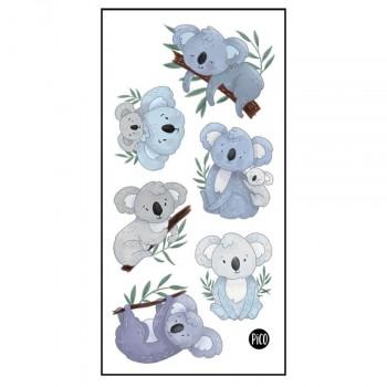 Tatouage Temporaire - Lorik Le Koala - Pico