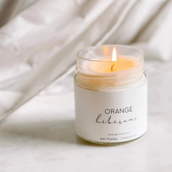 Chandelle De Soya 212ml - Orange - Hibiscus - Marée