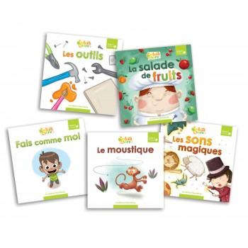 Livre - Interalire - Niveau C - Livre 1 À 5 - Éditions Passe-temps