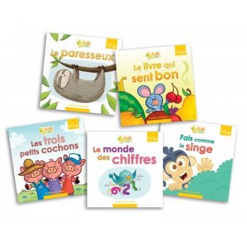Livre - Interalire - Niveau D - Livre 1 À 5 - Éditions Passe-temps