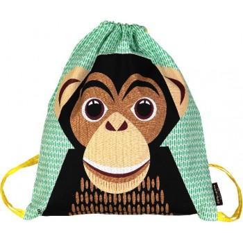 Sac à Cordon - Chimpanzé - Coq en Pâte