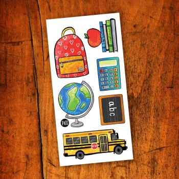 Tatouage Temporaire - Apprendre À L'école - Pico