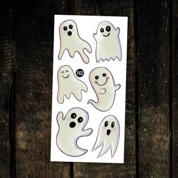 Tatouage Temporaire - Les Surprenants Fantômes - Pico
