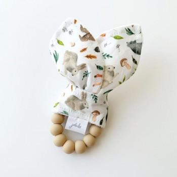 Hochet Dentition - Animaux de la Forêt - Jululu