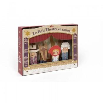 Le Petit Théâtre en Carton - Le Petit Chaperon Rouge - Londji