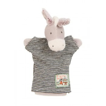 Marionnette - Grande Famille Barnabé l'âne - Moulin Roty