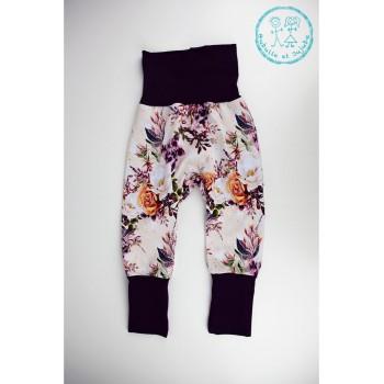 Pantalon évolutif 1-3ans - Fleuri Dramatique - Bubulle et Jujube