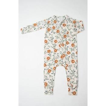 Pyjama Manches Longues - Fleurs - Loulou Lollipop