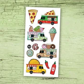 Tatouage Temporaire - Les Camions de Nourriture - Pico