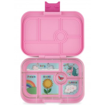 Yumbox Original 6 Compartiments - Power Pink - Unicorn