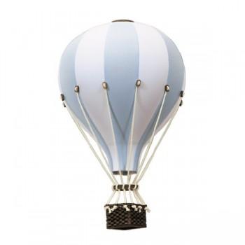 Montgolfière - Moyen - Bleu Pâle et Blanc - SuperBalloon