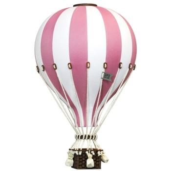 Montgolfière - Large - Vieux Rose et Blanc - SuperBalloon