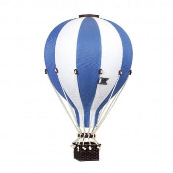 Montgolfière - Large - Bleu Foncé et Blanc - SuperBalloon